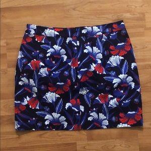J. Crew Skirts - J. Crew Printed Basketweave Mini Skirt